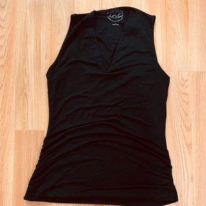 INC sleeveless v-neck blouse